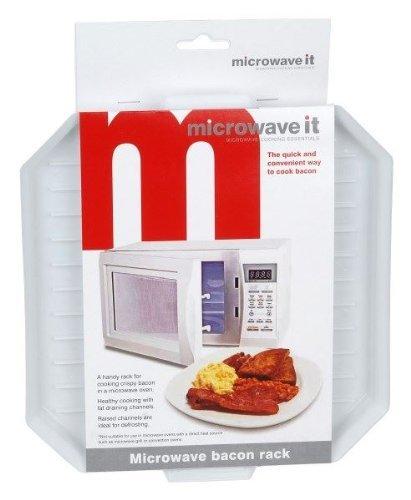 Microwave It Microwaveable Plastic Bacon Crisper by Microwave it