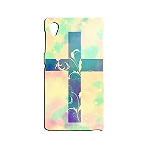 BLUEDIO Designer 3D Printed Back case cover for Sony Xperia Z1 - G4618