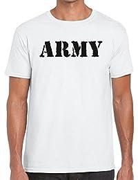 TeeDemon Army - Mens Shirts - Men's Tshirt Casual T-Shirt Gift