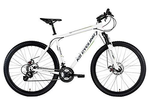 KS Cycling Fahrrad Mountainbike Hardtail MTB Heist Weiß, 27.5 Zoll
