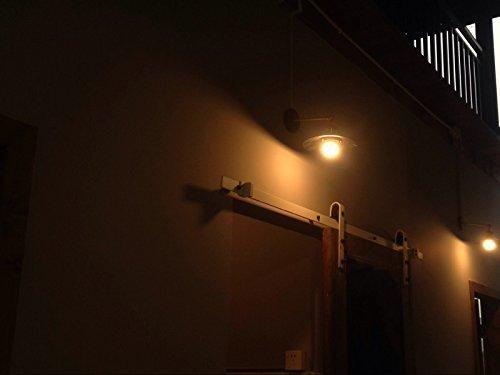 Unimall edison retro lampada da parete applique industriale