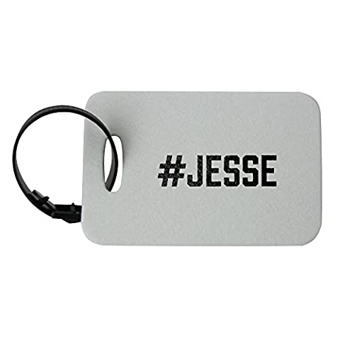 Luggage tag with #JESSE