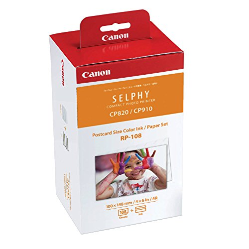 Galleria fotografica CANON Consommable kit papier RP-108IN 2 X 54 Feuilles