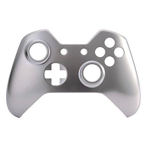 E Xtreme Rate Metal Like Metallic Top Front Housing Shell Case Faceplate Replacement Parts For Xbox One Controller 41dSdWvRAeL
