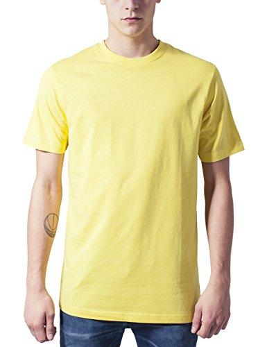 Urban Classics Herren T-Shirt Basic Tee Gelb (yellow 252)