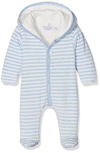 Dirkje Baby-Jungen Schneeanzug 31X-26247H-Babysnowsuit with Padding, Bleu (Light Blue Melee Stripe), 3-6 Monate (Herstellergröße: 62)