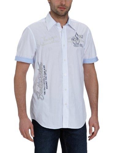 LERROS Herren Freizeithemd 2262241 Weiß (White 100)