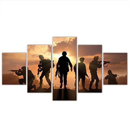 -Link Collage Frameless 5 Kombination hängen Gemälde (Can, doppelseitigen Klebstoff, wie z. B. Feste oder Bild fr AME straffe Federung) ()
