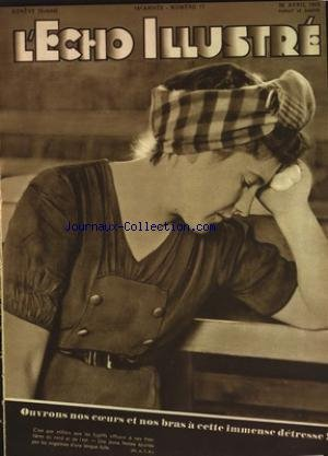 ECHO ILLUSTRE SUISSE (L') [No 17] du 28/04/1945