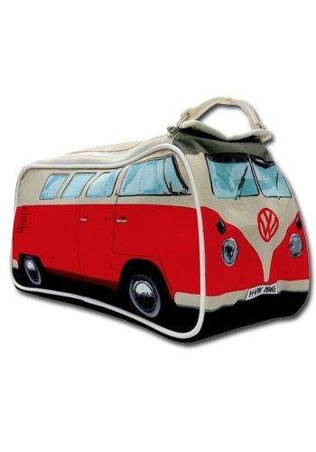 VW T1 Bus Kulturbeutel in rot - Volkswagen Bulli