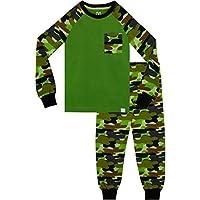 Harry Bear Boys Camouflage Pyjamas Snuggle Fit