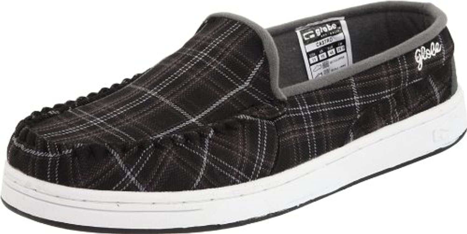 Globe Skateboard Shoes Castro Black Perforated Size 7  -