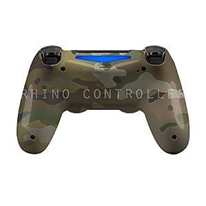 contrôleur de PS4 personnalisée sans fil brillant CAP-297-MultiCam personnalisée Peint
