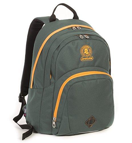 715e06a9fd ZAINO INVICTA – MISSION FORMAT – Verde scuola e tempo libero – 28 LT