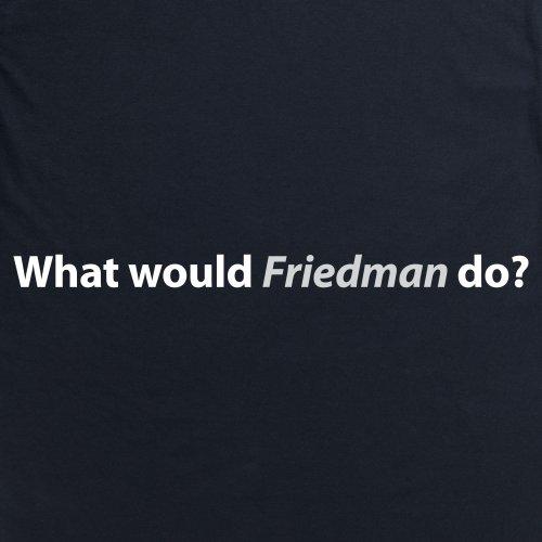 Square Mile Friedman T-Shirt, Herren Schwarz