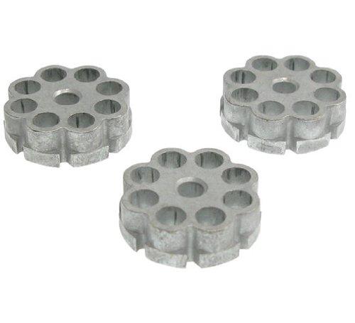 3er Pack Ersatztrommeln / Trommelmagazine für CO2 Pistolen 4,5mm (universal) [416.120]