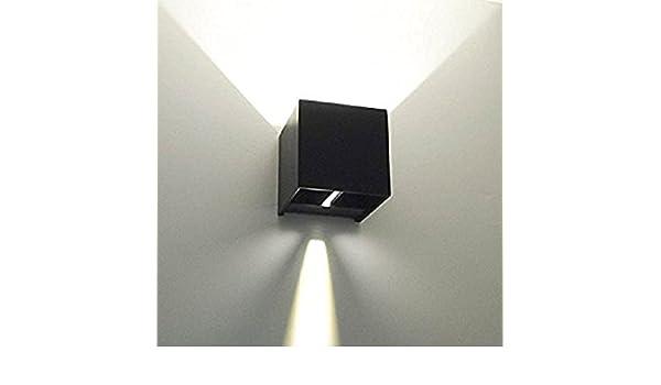 Applique lampada led per esterni ip65 stagna 10w 1200lm doppia luce