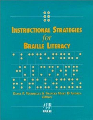Get Instructional Strategies For Braille Literacy Pdf Lshrq Llsyh
