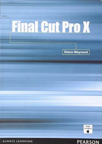 Final Cut Pro X por Diana Weynand