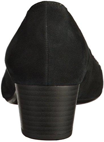 Pompe signore GABOR FASHION 65.381.17 camoscio nero Nero