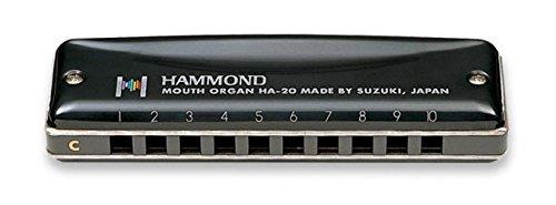 Suzuki SU-HA-20-G Hammond diatonisch Harmonika Harp (10 Loch, 20 Töne)