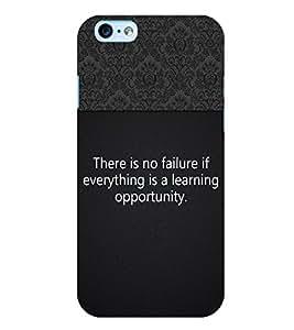 Fuson 3D Printed Quotes Designer back case cover for Apple I Phone 6 - D4310
