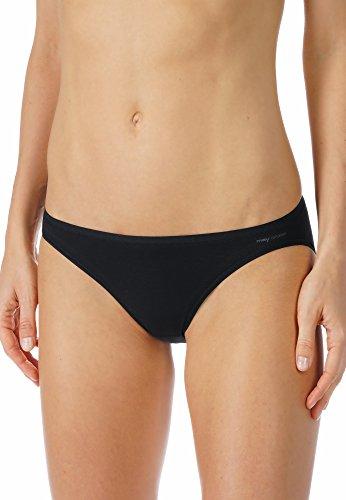 Mey Basics Serie Organic Damen Mini-Slips Schwarz 38 -