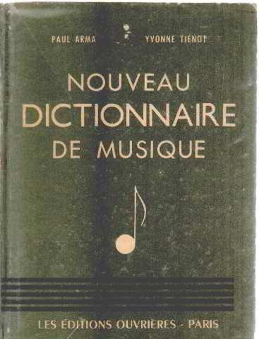 Nouveau dictionnaire de musique