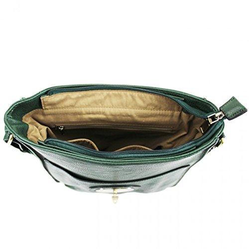 LeahWard Damen Cross Body Flap Handtaschen Hochwertige Kunstleder Schulter über Körper Tasche für Frauen 1001 (Dunkelblau H24cm x W22cm x D8cm) Mint H31cm x W27cm x D9cm
