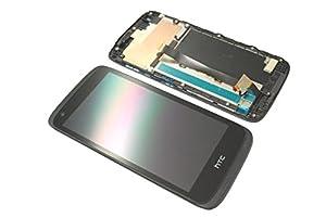 HTC Desire 526G Dual Sim LCD Display Touchscreen Cover Glas Rahmen Original Neu