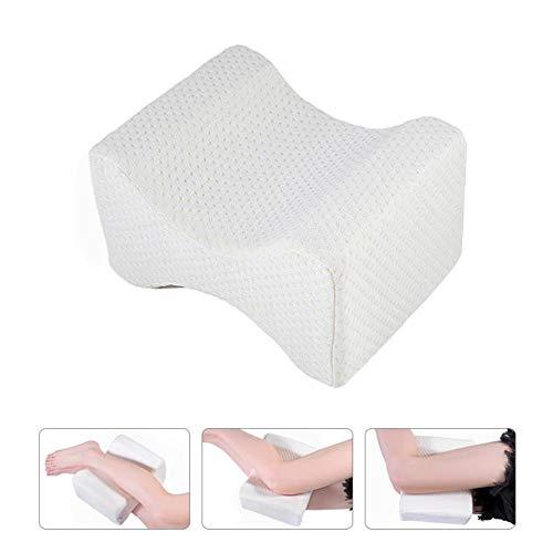 ZWYTZ Kniekissen,Ergonomisches Knie-Kissen Für Seitenschläfer, Memory Foam Beinkissen Haltbarer Memory-Schaumstoff - Entlastung Von Hüft-, Rücken- Und Knie-Schmerzen