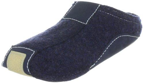 Haflinger Pocahontas, Unisex-Erwachsene Pantoffeln, Blau (Kapitän 79), 43 EU