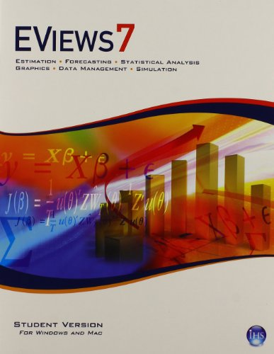 EViews 7.0 Software CD