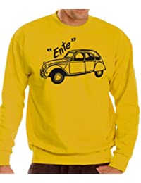 Youngtimer - Baureihe 2 CV Ente Sweatshirt - Pullover S-XXXL div. Farben