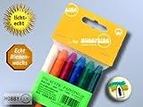 Hobbyring - Encaustic Wachsset, 6 Farben Neon