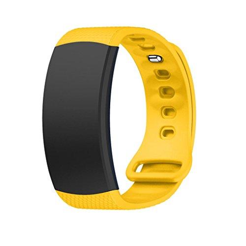 Transer per Samsung Gear Fit 2Pro Arm Band, Silicone Sport ricambio Bracciale, larghezza: 18mm lunghezza: 185mm