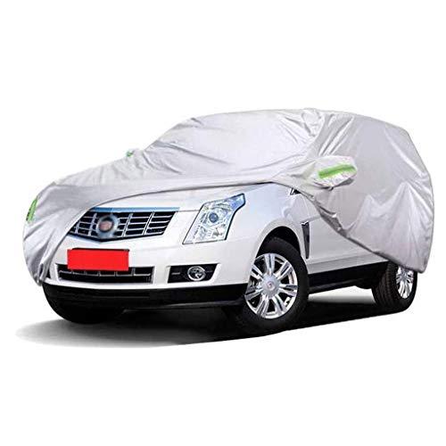POLKMN Autoabdeckung SUV Dicker Oxford-Stoff Indoor Outdoor Sonnenschutz Regendicht Schutzhülle (größe : 2015) (Auto-alarm Für Cabrio)