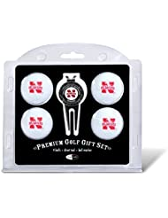 NCAA Nebraska 4-Pack Team Golf Ball Gift Set by Team Golf