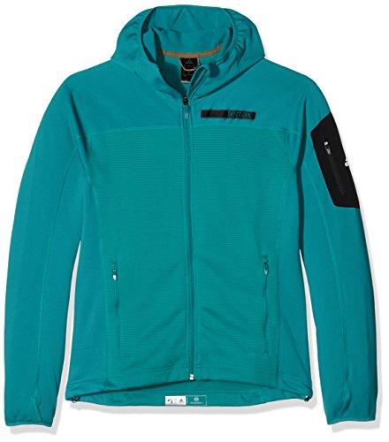 adidas Mens Outdoor Terrex Stock Horn Fleece Hoody Hoodie Jacket