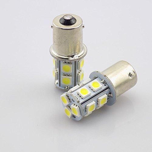 TMT LED (TM) 2 x Lampadina LED BA15S 1156 P21W 13...
