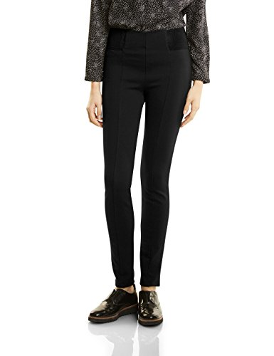 Street One Damen Hose 371036 Hella, Schwarz (Black 10001), 36/L30 (Slim Leg Taille Hose)