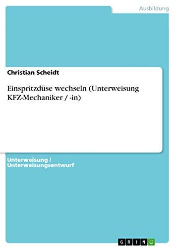 Einspritzdüse wechseln (Unterweisung KFZ-Mechaniker / -in)