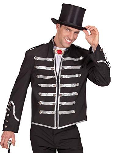 irkusdirektor Kostüm Herren Fasching-Jacke Offizier Uniform Parade-Jacke Herren-Kostüm Größe 54 ()