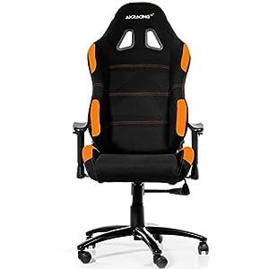AKRacing K7012 – AK-7012-BO – Silla Gaming, Color Negro/Naranja