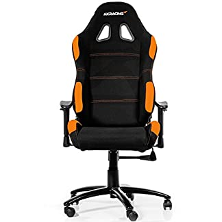 AK Racing 7012 – Silla para Gaming, color negro y naranja