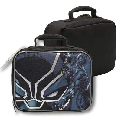 Marvel Avengers Black Panther PVC & BPA frei Isolierte Lunch Box -