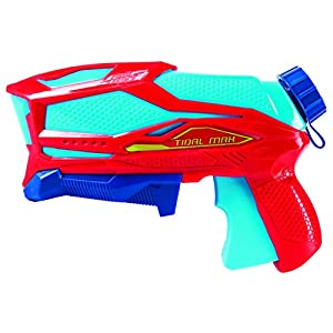 Swimways 6043768 - Pistola de Agua Flood Force Tidal MAX, 2 Unidades, Multicolor
