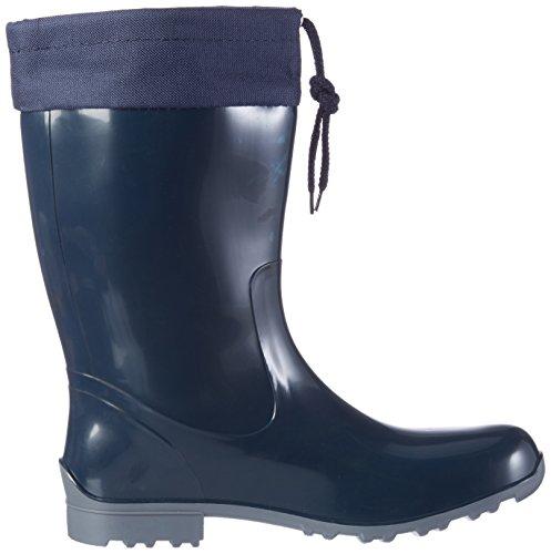 Bockstiegel® Sara City Boots In Gomma Da Donna (stivali Di Gomma 36-43) Dk-blue / Grey