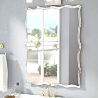 Quality Glass Frameless Glass Wall Mirror (Silver, 18 x 24 Inch)