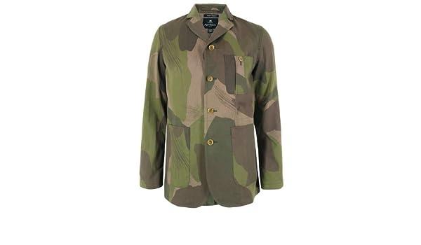 238a528d833ef Nigel Cabourn Camo New Tenzing Jacket XL: Amazon.co.uk: Clothing
